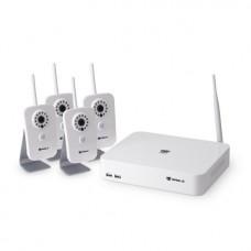 Комплект сетевого видеонаблюдения EAGLE EGL-NH2004-BVH-210