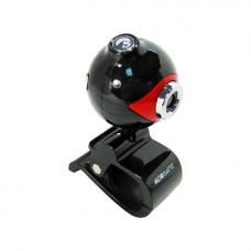 Веб Камера Global A-16 Красно-Чёрный