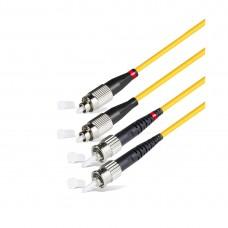 Патч Корд Оптоволоконный FC/UPC-ST/UPC SM 9/125 Duplex 3.0мм 2 м