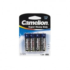 Батарейка CAMELION Super Heavy Duty R6P-BP4B 4 шт. в блистере