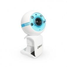 Веб-Камера Global A-25 Бело-Синий