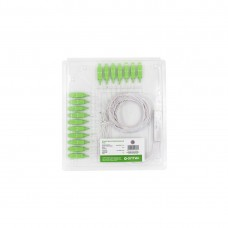 Сплиттер оптоволоконный PLC А-Оптик 1х16 SC/APC 1,5m SM