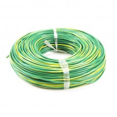 Провод монтажный iPower RV 1х1.5 жёлто-зелёный