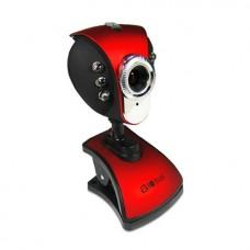 Веб-Камера Global A-4 Чёрно-Красный