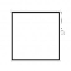 Экран моторизированный (с пультом Д/У) Deluxe DLS-ERC203x153W (80