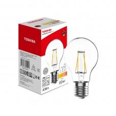 Филаментная лампа Toshiba A60 7W (60W) 2700K 806lm E27 ND Тёплый
