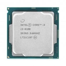 Процессор Intel (Core i3-8100, 3.60GHz, 4-core)