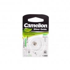 Батарейка CAMELION Silver Oxide SR41-BP1(0%Hg)
