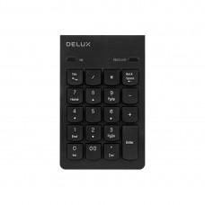 Клавиатура с цифровым блоком Delux DLK-300UB