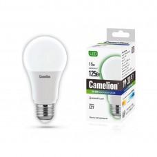 Эл. лампа светодиодная Camelion А60/6500К/E27/15Вт, Дневной