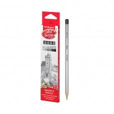 Коробка чернографитных шестигранных карандашей ArtBerry® 2H, H, HB, HB, B, 2B (6 карандашей)