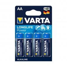 Батарейка VARTA Long Life Power Mignon 1.5V - LR6/ AA (4 шт) (4906) <4906-4>