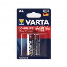 Батарейка VARTA Long Life Max Power Mignon 1.5V - LR6/ AA (2 шт) (4706) <4706-2>