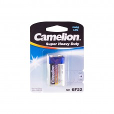 Батарейка CAMELION Super Heave Duty 6F22-BP1B
