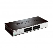 Коммутатор D-link DES-1016D/H1A (100 Base-TX (100 мбит/с), Без SFP портов)