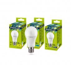 Эл. лампа светодиодная Ergolux A60/6500K/E27/17Вт, Дневной