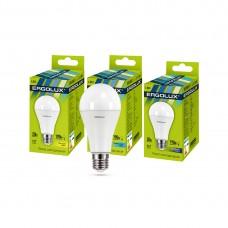 Эл. лампа светодиодная Ergolux A65/4500K/E27/20Вт, Холодный