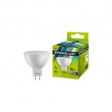 Эл. лампа светодиодная Ergolux JCDR GU5.3/6500K/7Вт, Дневной