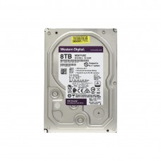 "Жёсткий диск для видеонаблюдения Western Digital Purple WD81PURZ (8TB, HDD, SATA, 3.5"")"