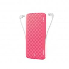 Портативное зарядное устройство iWalk UBT12000X Pink