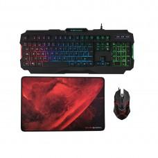 Комплект клавиатура, мышь и коврик Mars Gaming MCP118