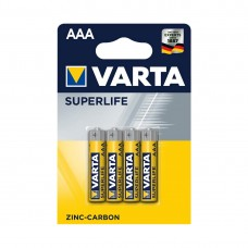 Батарейка VARTA Superlife Micro 1.5V - R03P/AAA (4 шт) (2003) <2003-4>