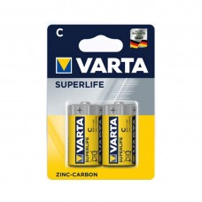 Батарейка VARTA Superlife Baby 1.5V - R14P/C (2  шт) в пленке (2014) <2014-2>