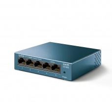 Коммутатор TP-Link LS105G (1000 Base-TX (1000 мбит/с), Без SFP портов)