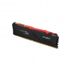 Оперативная память Kingston HyperX Fury RGB HX434C16FB3A/8 (8GB, DDR4, 3466MHz)