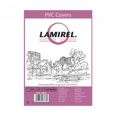 Обложки Lamirel Transparent A4 LA-78684, PVC, дымчатые, 200мкм, 100шт