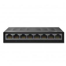 Коммутатор TP-Link LS1008G (1000 Base-TX (1000 мбит/с), Без SFP портов)