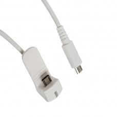 Противокражный кабель Eagle A6150BW (Reverse Micro USB - Micro USB)