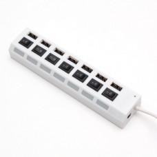 Расширитель USB Deluxe на 7 Портов DUH7003WH