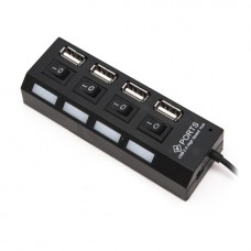 Расширитель USB Deluxe на 4 Порта DUH4004BK