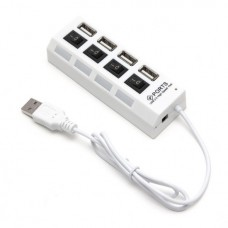 Расширитель USB Deluxe на 4 Порта DUH4004WH