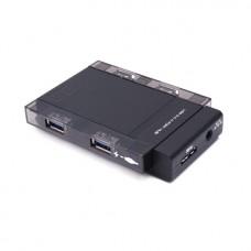 Расширитель USB Deluxe на 4 Порта DUH4006BK