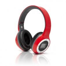 Наушники Global SX-999 Беспроводные с MP3/FM Красный