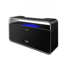 SVEN PS-185, черный, мощность 2x5 Вт (RMS), Bluetooth, USB, LED-дисплей, часы, будильник