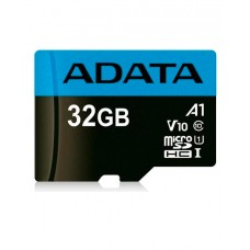 ADATA microSDHC, 32GB, UHS-I Class 10 A1 + SD adapter