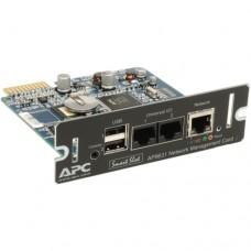 Опция для ИБП APC Плата сетевого управления ИБП с функцией мониторинга параметров среды AP9631