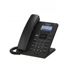 Panasonic KX-HDV130RUB Проводной SIP-телефон 2.3-дюйм, 2 линии, 2 порта, PoE, громкая связь, память 500 номеров