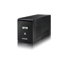 Источник бесперебойного питания VOLTA Active 1500 LCD Black (Линейно-интерактивные, Напольный, 1500 ВА, 900 Вт)