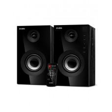 SVEN SPS-615, чёрный, акустическая система 2.0, мощность 2x10Вт (RMS), USB/SD, пульт ДУ, Bluetooth