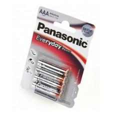 Батарейка щелочная PANASONIC Every Day Power AAA/4B