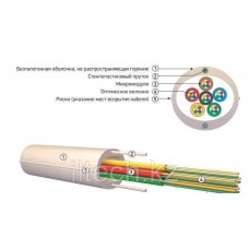 Кабель волоконно-оптический ОКНГ(A)НF-М4П-М4-0,5 (50/125)