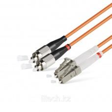 Патчкорд FC/UPC-LC/UPC MM (50/125, 62,5/125) DUPLEX 2,0mm - 1М