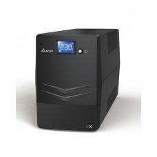 Источник бесперебойного питания Delta VX600 Линейно-интерактивный ИБП 600 ВА/ 360 Вт