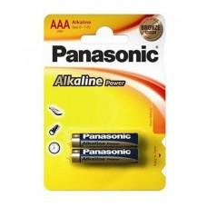 Батарейка щелочная PANASONIC Alkaline Power ААА/2B