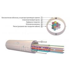 Кабель волоконно-оптический ОКНГ-Т12-С12-1.0 (ВП) с двумя прутками в оболочке