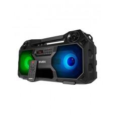SVEN PS-520, черный, акустическая система 2.0, мощность 2x18 Вт (RMS), TWS, Bluetooth, FM, USB